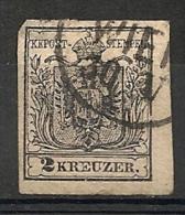 Autriche. 1850. N° 2. Oblit. - 1850-1918 Empire