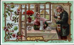 CHROMO CHOCOLAT FELIX POTIN - BELGIQUE - COBEA - Félix Potin