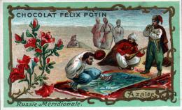CHROMO CHOCOLAT FELIX POTIN - RUSSIE MERIDIONALE - AZALEE - Félix Potin