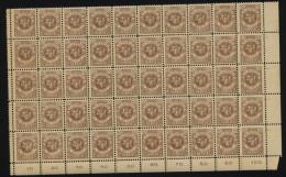 Memel,141 Im 50er Bogenteil,xx (M3) - Memelgebiet