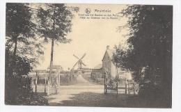 Meulebeke Dreef Van Het Kasteel En Den Molen FELDPOST 1915 Moulin Muhle TOP !! - Meulebeke