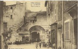 ST-TROPEZ - Place Du Marché - Atelier De Peinture - Mlle Barois Editeur St-Tropez - RARE - Saint-Tropez