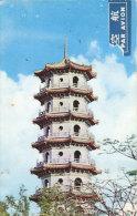 Chung-Hsing Pagoda Deeng-Tsing Lake - Taiwan