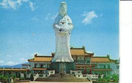 Chungcheng Park Keelung Statue Of Goddess Of Mercy - Taiwan