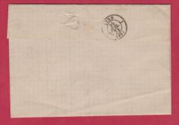 Lettre De St Etienne Pour Lyon  //  24 Juillet 1874 - 1849-1876: Classic Period