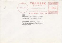 EMA AUTRICHE OSTERREICH AUSTRIA TRANSEX PARAGON ESTABLISHMENT SCHAAN WIEN VIENNE 1977 - Fabbriche E Imprese
