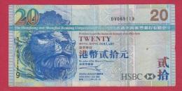 HONG-KONG //  20 Dollars 2003  //  état TB+ - Hong Kong