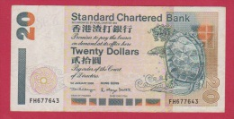 HONG-KONG //  20 Dollars //  1 Janvier 2000  //  état TB+ - Hong Kong