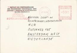 EMA AUTRICHE OSTERREICH AUSTRIA 1972 WIEN INSTITUT STROMUNG REKTORAT MAREE STROMUNGSLEHRE ENSEIGNEMENT RECTORAT ENERGIE - Unclassified