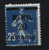 Memel,20,xx  (4870) - Memelgebiet