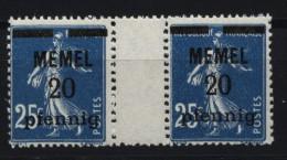 Memel,20,ZW,xx  (4870) - Memelgebiet