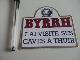 Autocollant - BYRRH - Caves THUIR - Autocollants