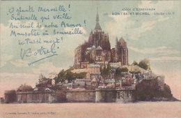50 - Mont St Michel - Côté Est (Botrel, Colorisée) - Le Mont Saint Michel