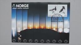 Norwegen 883/4 Yt 1031/4 Maximumkarte MK/MC, SST NORDIA 1984, Vögel - Cartes-maximum (CM)