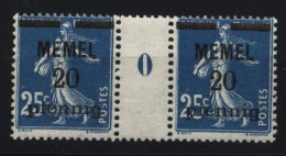 Memel,20b,MS 0,xx (4870) - Memelgebiet