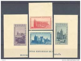 ESSH848-L3730TRCR.Spain Espagne.MONUMENTOS HISTORICOS.1938 .(Ed 848**sh) Sin Charnela.LUJO  SH SIN DENTAR - Cristianismo