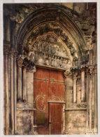 Semur En Auxois , Eglise Notre - Dame , Porte Des Bleds ( XIII° Siecle ) - Kirchen U. Kathedralen