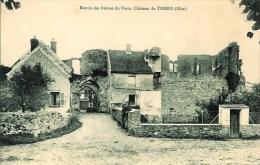 60 Entrée Des Ruines Du Vieux Château De THIERS - Otros Municipios