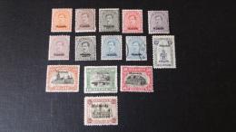 Belgique 1920 OC 62 à 74 *  Manque Le 65 Et Le 69 Est Oblit. 64 En Double - Guerra '14-'18
