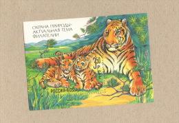 Rußland, Russia Tiger 1992 ** MNH - Roofkatten