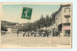 Saint Chamond : Boulevard Waldeck Rousseau. 2 Scans. Edition BF - Saint Chamond
