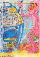 Carte Stéréoscopique - La Panthère Rose - Machine à Sous - Stereoscope Cards