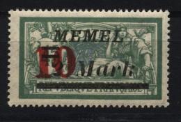 Memel,121 II,xx,gep.  (4870) - Memelgebiet