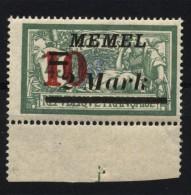 Memel,121 IV,xx,gep.  (4870) - Memelgebiet
