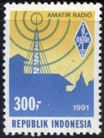INDONESIA   - AMATER RADIO  - AMBLEM  - **MNH - 1991 - Telecom