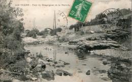 -CPA 83 : TRANS, Le Pont De Draguignan, Bergère Et Ses Moutons ( N° 418 ) - Otros Municipios