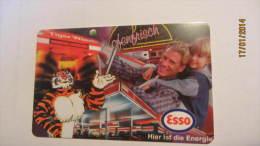 """Telefonkarte Der Deutschen Telekom """"ESSO - Hier Ist Energie"""" 12 DM, 08.97 Auflage: 1.000.000 - Deutschland"""