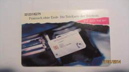 """Telefonkarte Der Deutschen Telekom """"Ruf Doch Mal An!"""" 50 DM, 01.92  Auflage: 500.000 - Deutschland"""