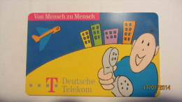 """Telefonkarte Der Deutschen Telekom """"Wir Verbinden Menschen"""" 6 DM, 05.97 Auflage: 29.000 - Deutschland"""