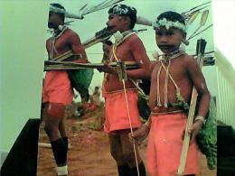 BRASILE MATO GROSSO COSTUMI TRADIZIONALI BRASILE XAVANTE RITO WAPTE N1975  EI3930 - Manaus