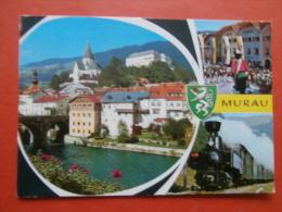 30260 PC: AUSTRIA: STYRIA: Murau, Obersteiermark. / Samson / Murtalnahn. (Postmark 1976). - Other
