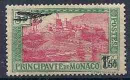 1956 MONACO PA 1* Surchargé, Gomme Altérée, Deuxieme Choix - Poste Aérienne