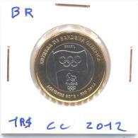 Pièce 1 Réal 2012 Brésil / Brasil Commémorative J.O. UNC - Buy It Now - Brazilië