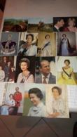 14 CP De La Famille Royale D'Angleterre (3 Scans) - Persönlichkeiten