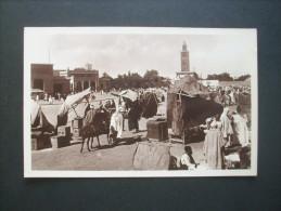 Marrakech Place Djama El Fna, Musée - Cap NON  CIRCULEE  L144A - Marrakesh