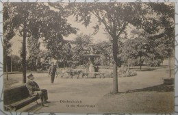 CPA Noir Et Blanc Thionville Diedenhofen In Der Mosel-Anlage - Thionville