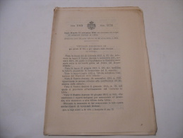 LIBIA CORPO DI VOLONTARI ITALIANI REGIO DECRETO 1913 - Decreti & Leggi