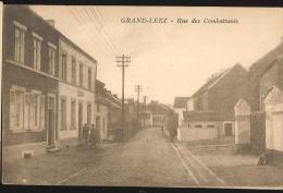 Cpa Grand Leez  Rue 1930 - Gembloux