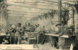 CPA 22 ST BRIEUC USINE PITET AINE ET CIE LES ATELIERS SCIERIE ET TOURNAGE - Saint-Brieuc