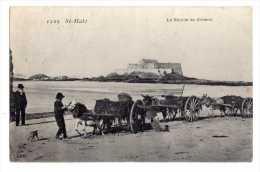 Cpa St Malo (35) La Recolte Du Goemon - Cpa35 - 1907 - Saint Malo