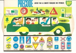 PUBLICITE BP - PRECODE - CODE ROUTE - Sonstige
