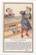 C.BERIOT LILLE - TOM TIT - LA SCIENCE AMUSANTE-CATAPULTE MODERNE-CIRCA 1900 - Geschäfte