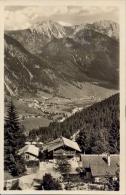 Germany BRD Picture Postcard Bad Oberdorf Posted 1955 - Hindelang