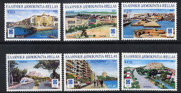 GREECE 2004 Athens Olympic Games XI Olympic Venues Set Of 6  MNH / **.  Michel 2208-13 - Unused Stamps
