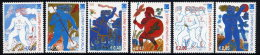 GREECE 2003 Athens Olympic Games IX:  The Athletes Set Of 6  MNH / **.  Michel 2197-202 - Greece