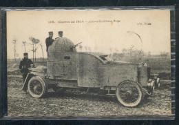 6312 - Guerre Européenne 1914 : Auto Mitrailleuse Belge - Material
